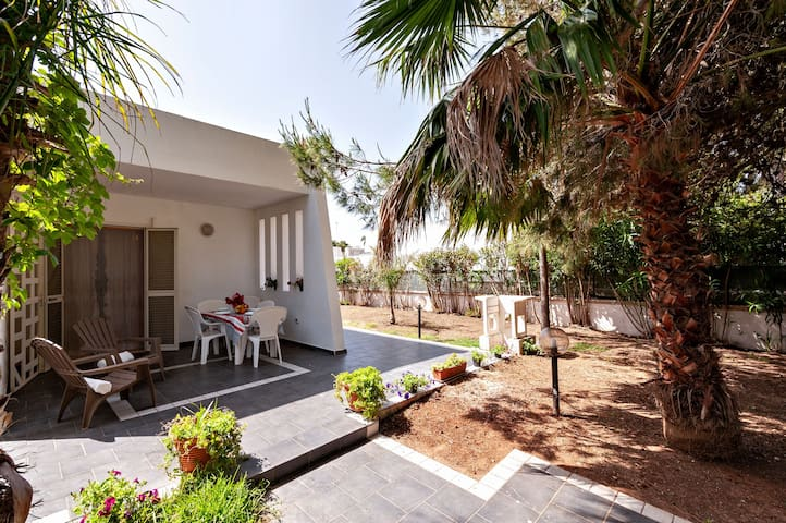 Idyllic Holiday Home with Air Conditioning, Garden & Terrace; Parking Available, Pets Allowed