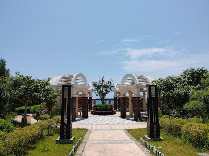 中信黄金海岸中式豪华花园海边别墅