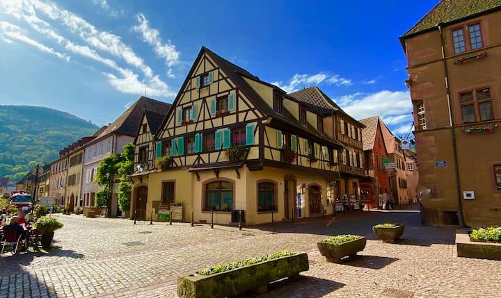 2. Coeur de la vieille ville, route des vins
