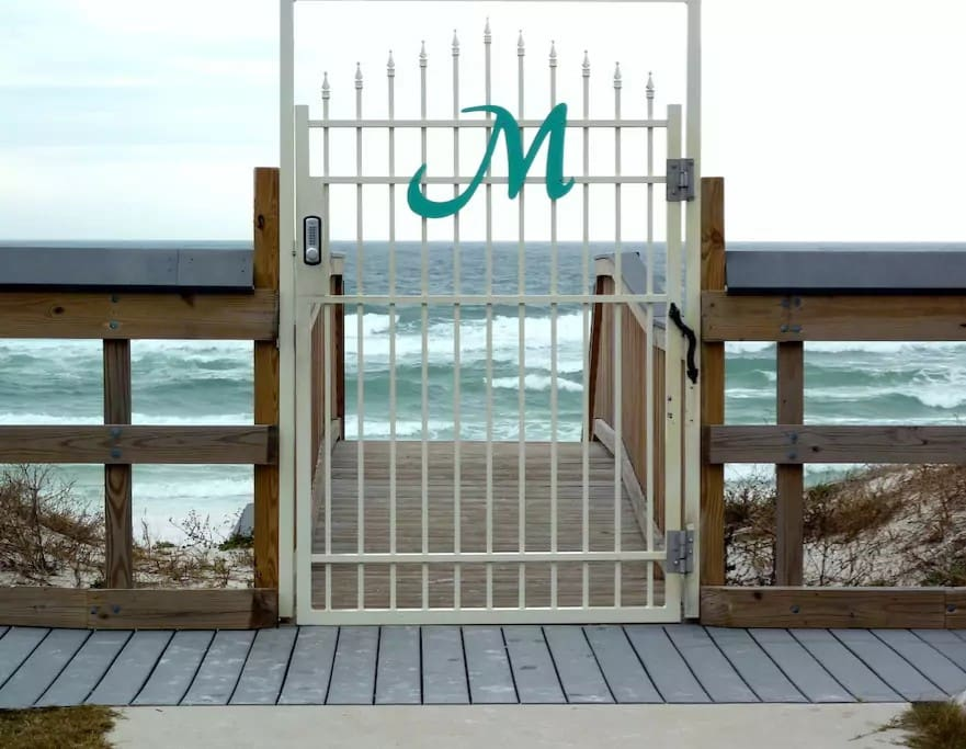 Private, Gated Beach Access for Maravilla guests