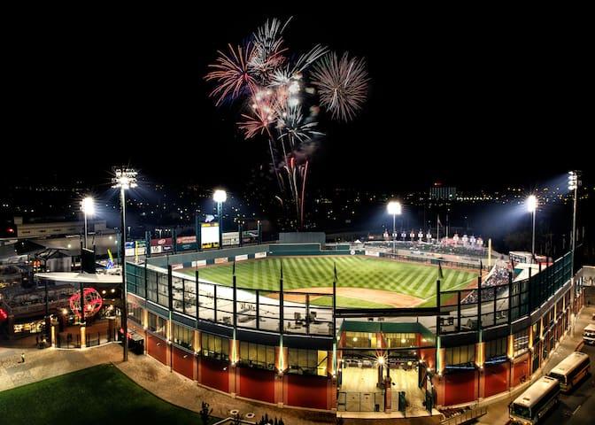 Downtown, Reno Aces Stadium
