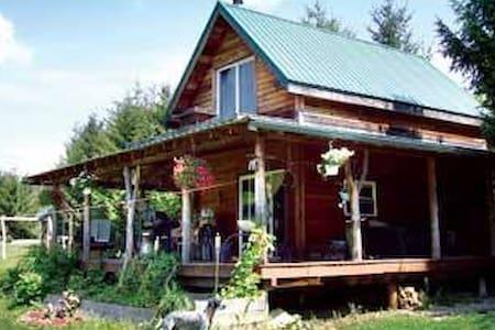 Cozy County Cabin - Belmont - Blockhütte