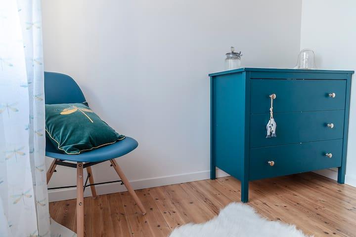 Une chambre pour enfants.