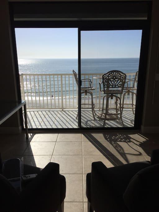 Balcony View of Gulf/Beach