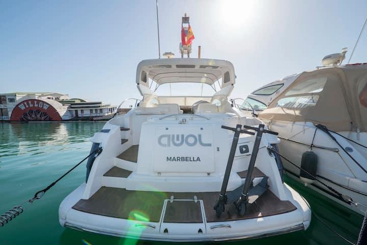 Puerto Banus Yacht, AWOL