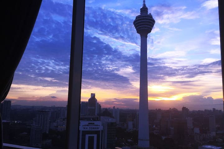 City Center - Amazing KL Tower View - No Clean Fee - Kuala Lumpur - Apartment