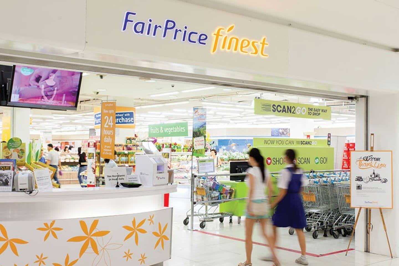 Supermarket NTUC Finest