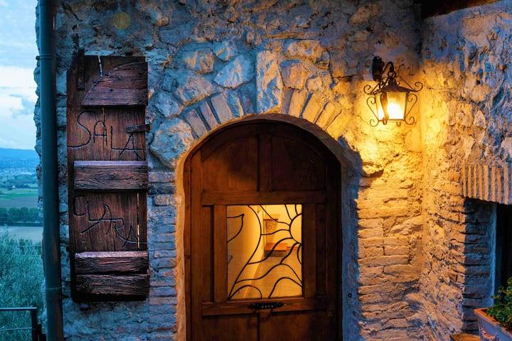 NEW!Sala Clara-Borgo medievale pace e natura