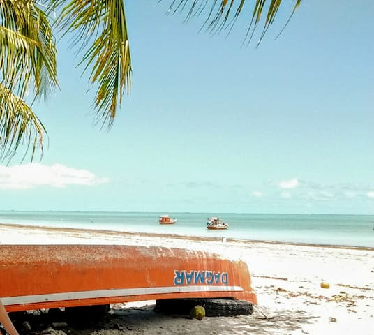 Apto em privê c/piscina, 200m da praia - Itamaracá