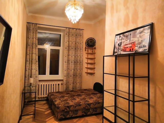 Бюджетная уютная комната у Эрмитажа