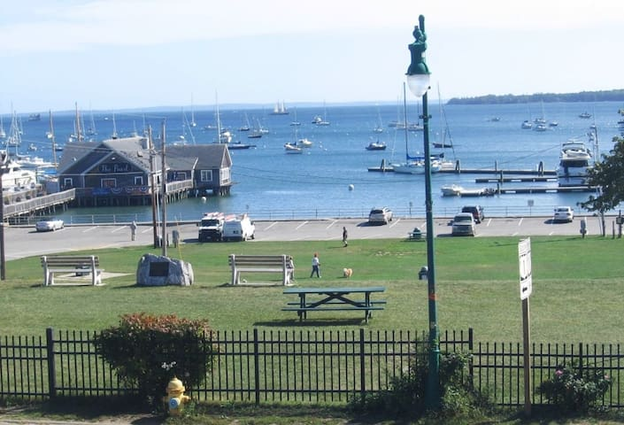 Overlooking  Harbor and Penobscot Bay - Downtown