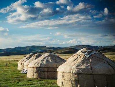 """Song Kol Lake """"Tilek Yurt Camp"""""""