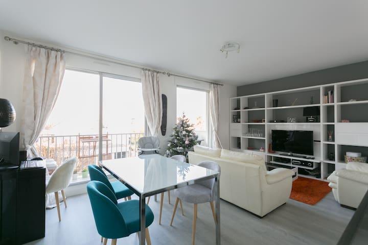 Bel appartement entre Paris et Disneyland - Saint-Maur-des-Fossés - Appartement