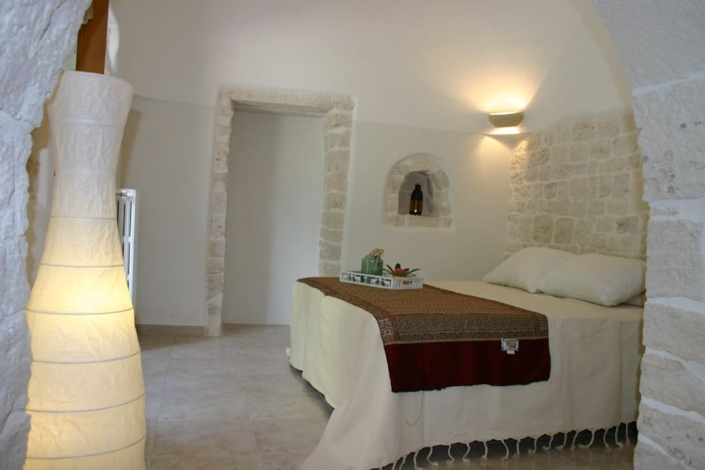 Trulli-Bedroom 2 for 3 People