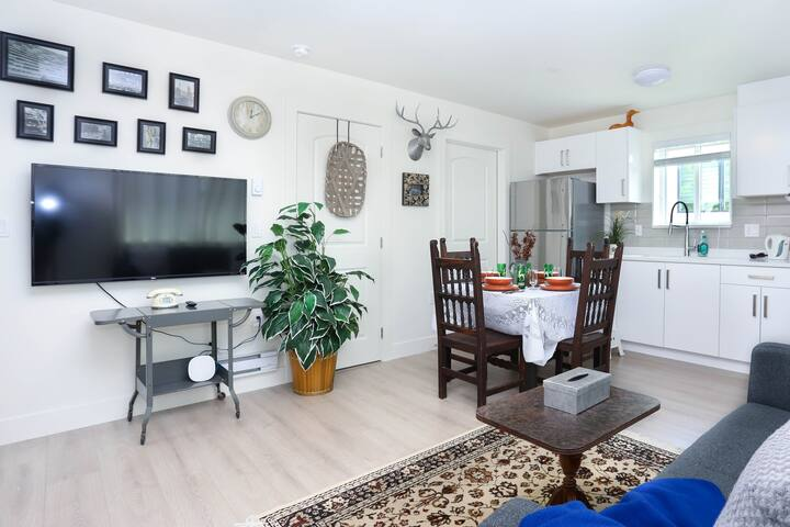 Tasteful new laneway house 2 Bedrooms Guest Suite