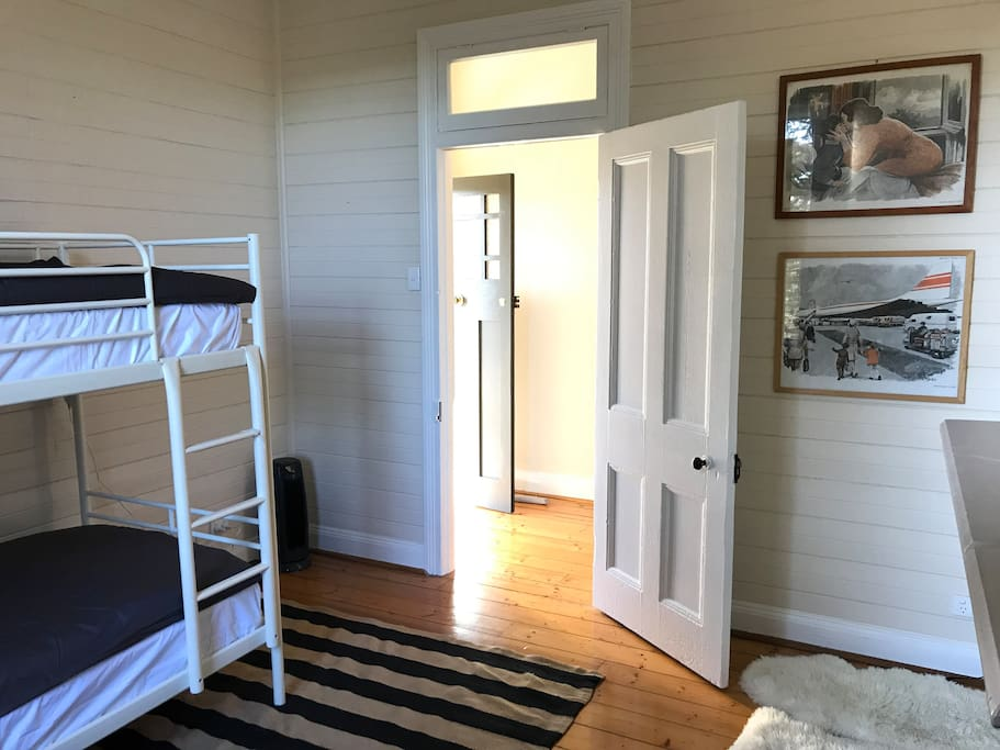 Double Bunk room suitable for kids