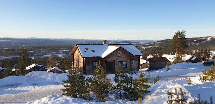 Fjällvidden - A luxurious mountain cabin in Sweden