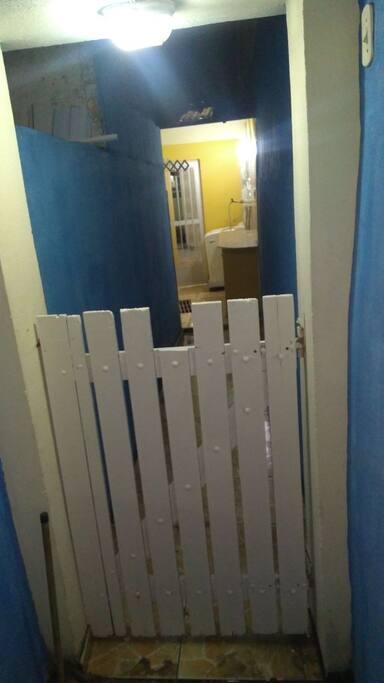 Portão de Entrada Privativa