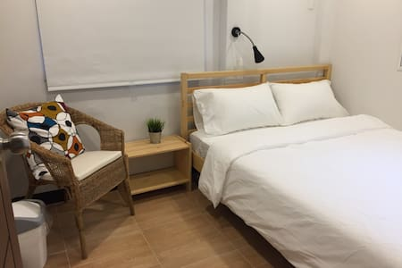 2 BR for 5 guests, cozy@old town near Grand Palace