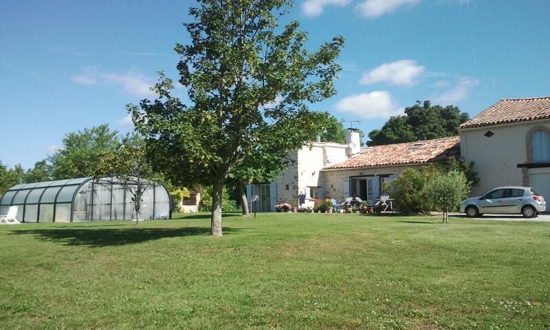 Gîte 5 p. piscine chauffée couverte - Cambon-lès-Lavaur - Huis