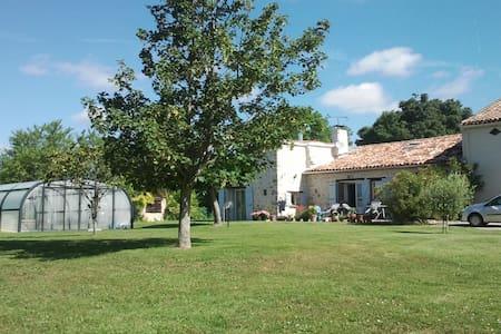 Gîte 5 p. piscine chauffée couverte - Cambon-lès-Lavaur - Haus