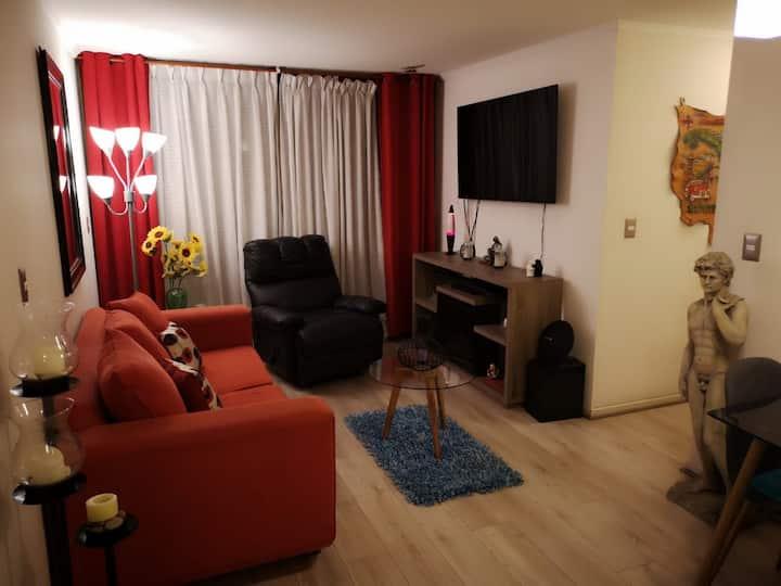 Agradable espacio para disfrute de tu estancia.
