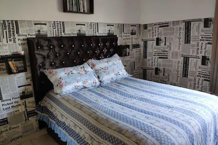 Casa e cama confortável no centro de Curitibanos