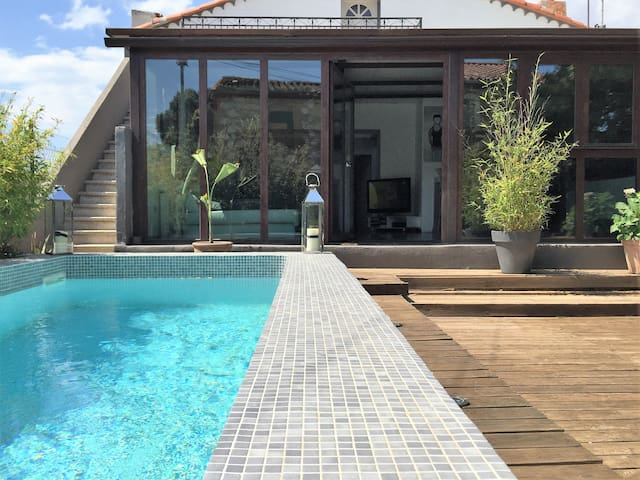 Maison style archi entre mer et espagne - Terrats - Rumah