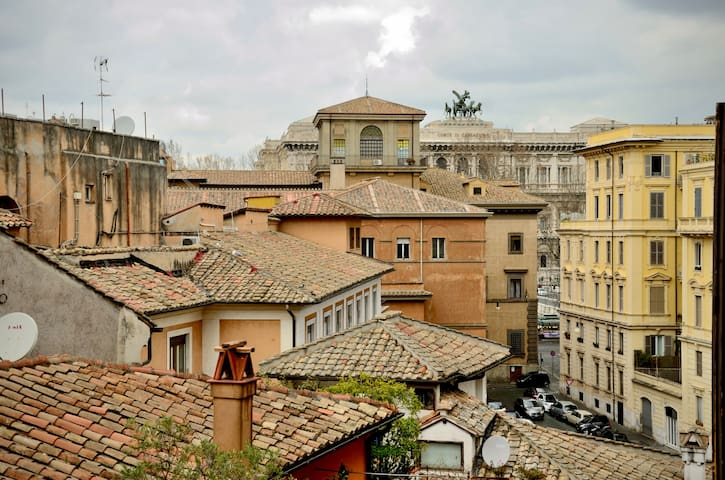 CORONARI ROOF TERRACE 1 MINUTE FROM PIAZZA NAVONA - Рим - Квартира