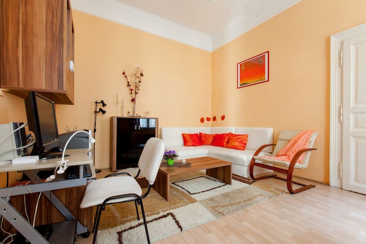 Cozy apartment close to city center - Budapest - Apto. en complejo residencial