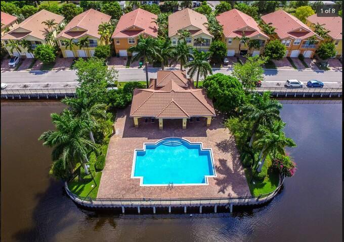 Villa Rosa Master Bedroom Suite - West Palm Beach - Dům