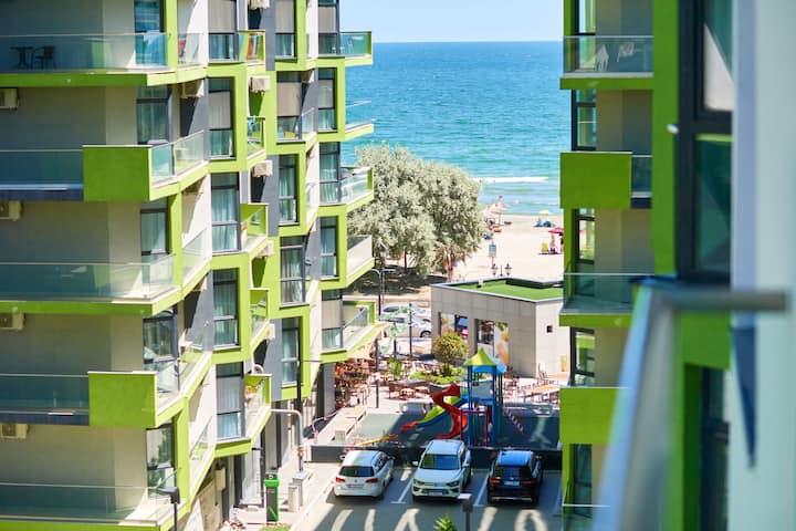 Dolce Vita apt. in Spa n Pool ALEZZI Beach resort