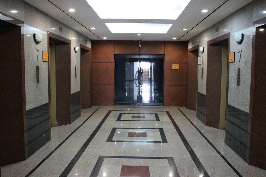 Six Elevators