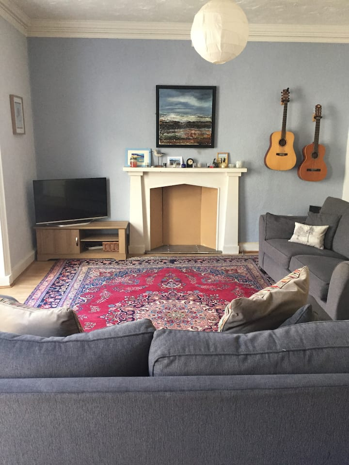 Georgian apartment - children and dogs welcome