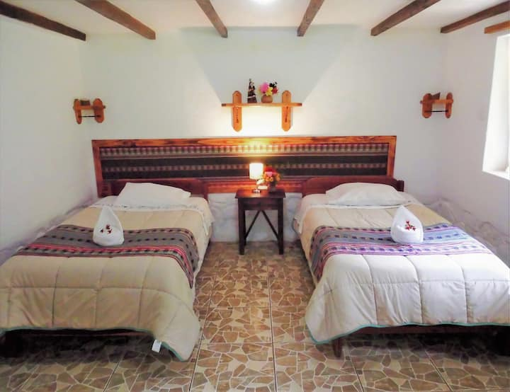 Incan Paradise in Stylish Countryside Stay