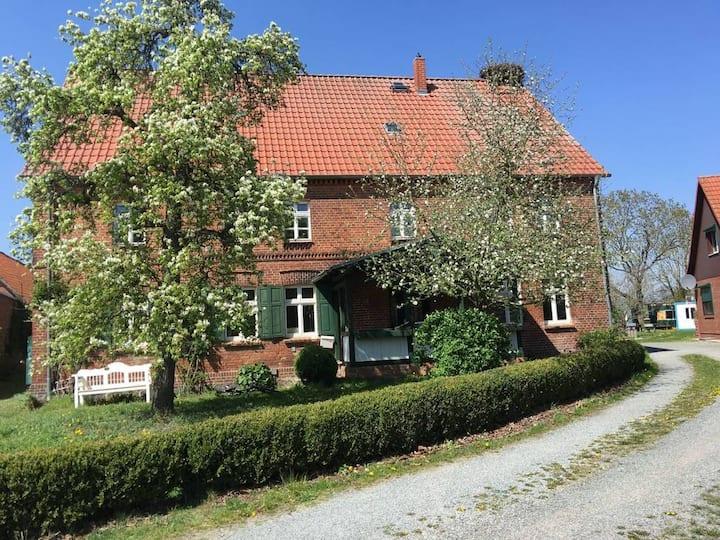 Storchenhaus Abbendorf - mit Badestelle im Dorf