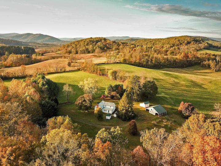 Walnut Run Farm - Private & Quiet - Sperryville
