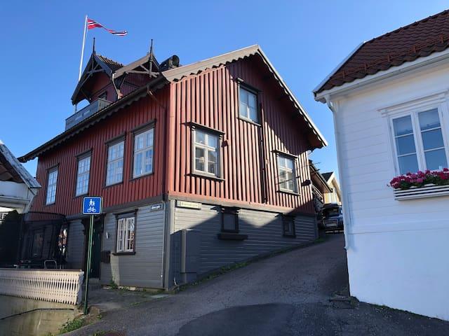 Gamle Brannstasjon i Brevik