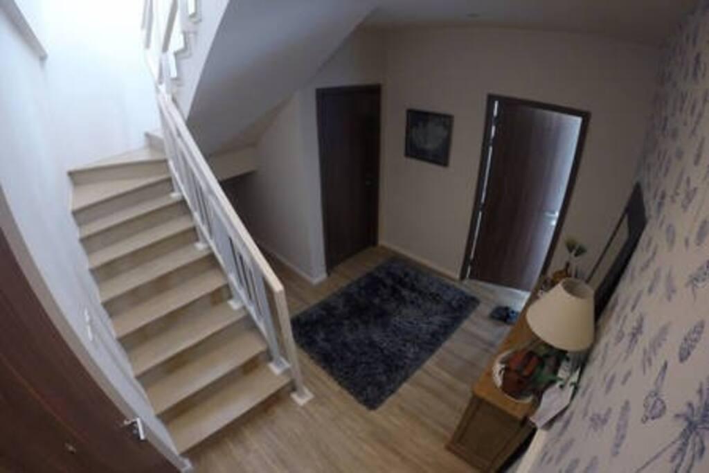 Duplex Room Entrance