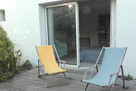 Chambre avec vue sur jardin - La Rochelle