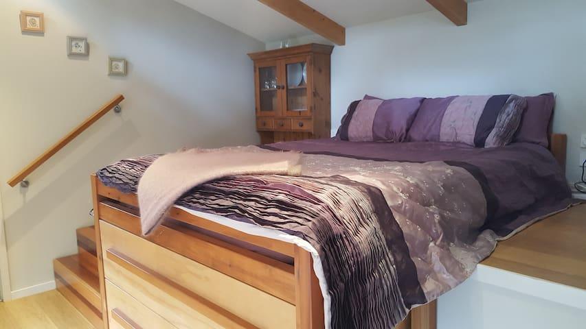 A great nights sleep on the queen memory foam mattress