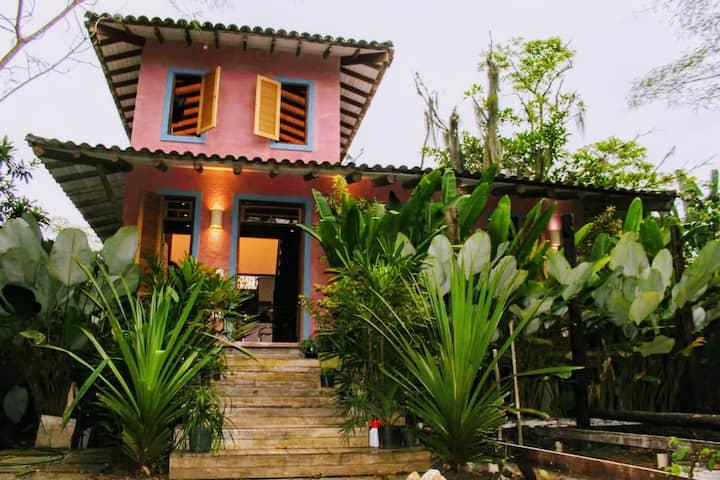 Casa ampla e agradável no Sertão do Camburi