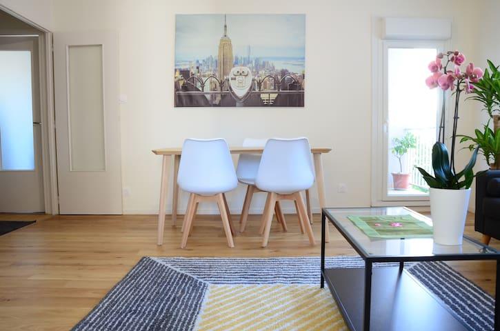 Appartement lumineux. Jean Jaurès-Berges du Rhône