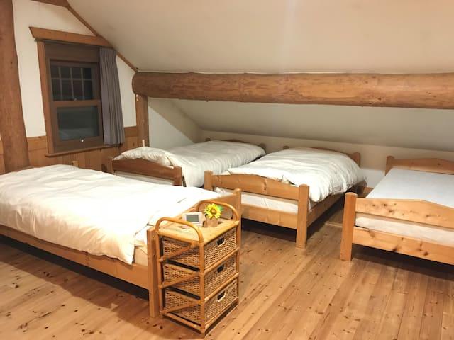 NISEKO TRAIL-HEAD lodge 4bed room