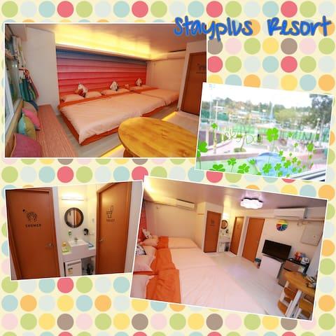 Cheung Chau Guesthouse - Room for 6 - Hong Kong - Apartamento