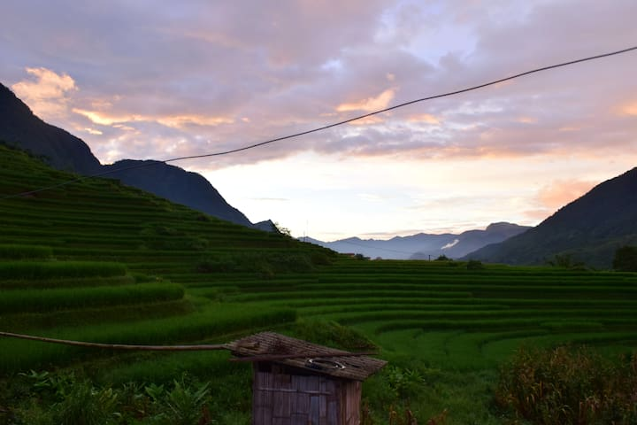Daydreamers' paradise in Sapa, Vietnam