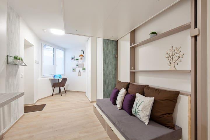 Beau studio moderne pour 2 près de Bastille