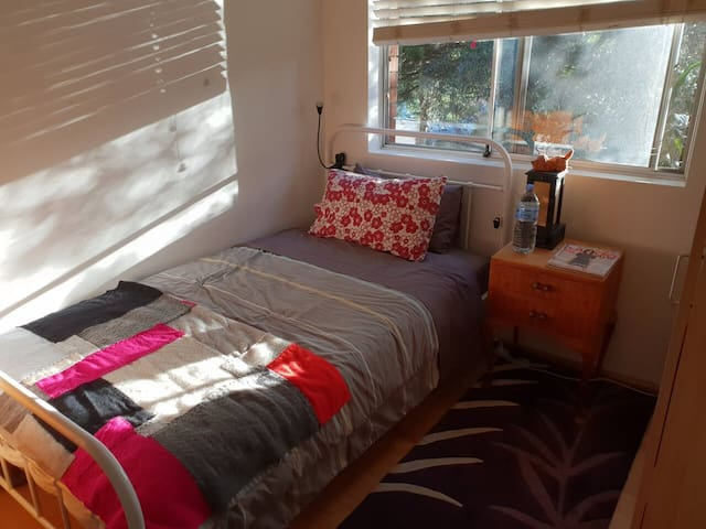 Cosy King Single in the Inner West. (With cats!)