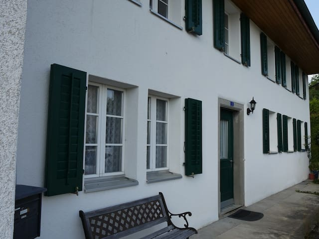 wohnen im gemütlichen historischen Haus - Meisterschwanden - Дом