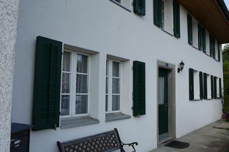 wohnen im gemütlichen historischen Haus - Meisterschwanden